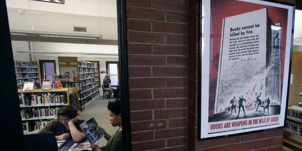 Trove of war posters discovered at New Hampshire library
