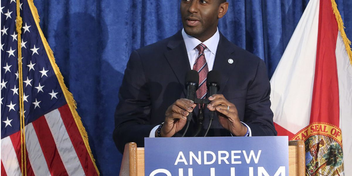 Gillum ends campaign for Florida governor after recount shows DeSantis still ahead