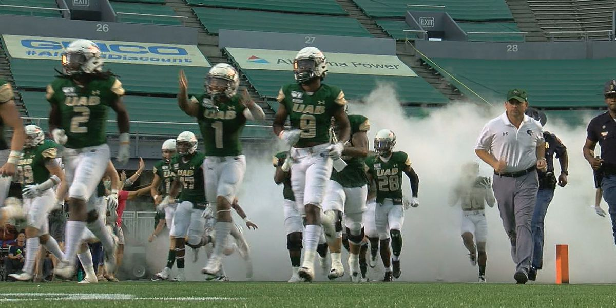 UAB football is one week away from kickoff
