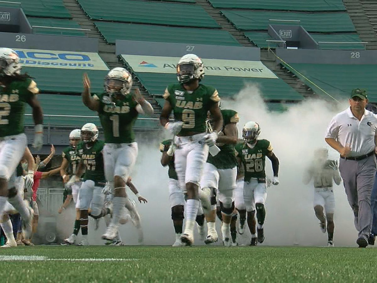 UAB head coach on big win, looking ahead, and treating injuries
