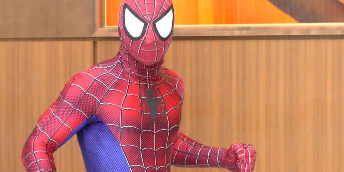 Marvel superheroes bring stunts and smiles to patients at Children's of Alabama