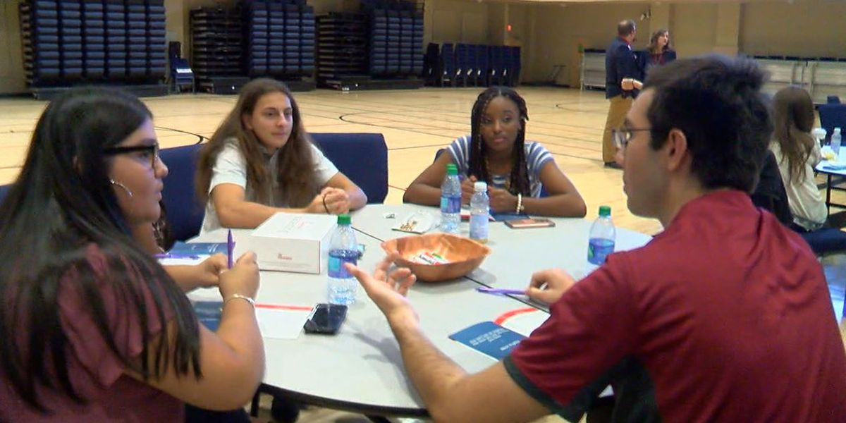 Shelby County High School students learn what it takes to be a leader