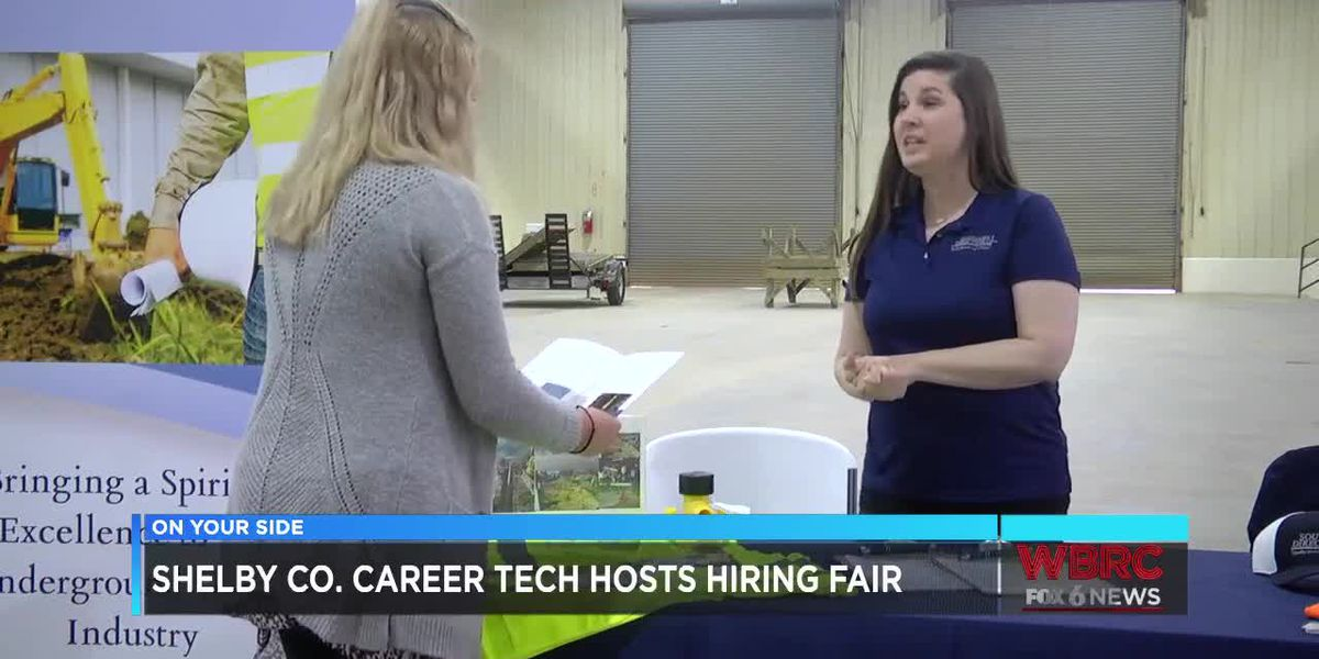 Shelby County career tech hosts hiring fair