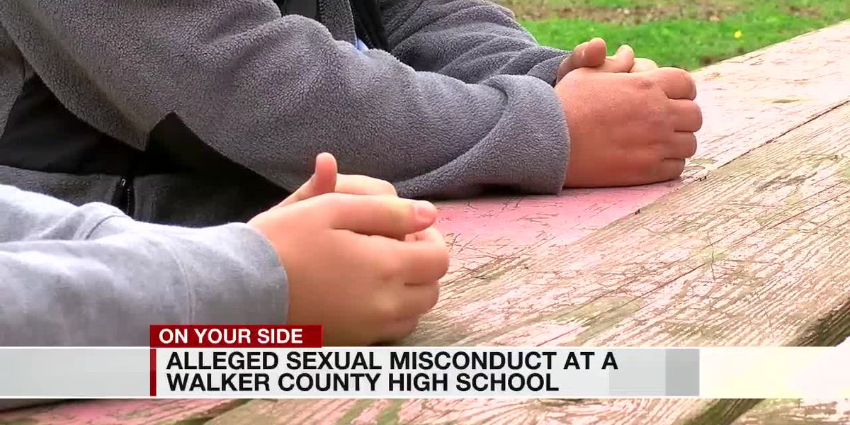 Alleged sexual misconduct at a Walker County high school