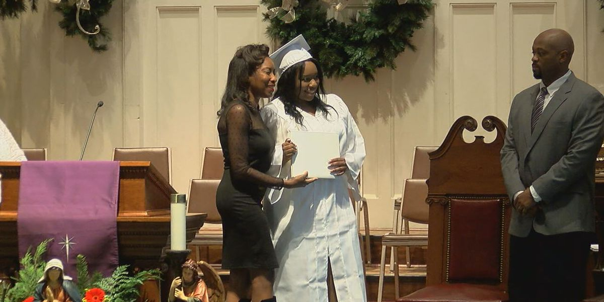Maranathan Academy valedictorian Qiana Riley has overcome major obstacles