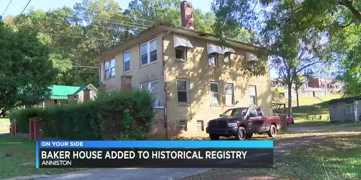 Baker House in Anniston added to AL historical registry