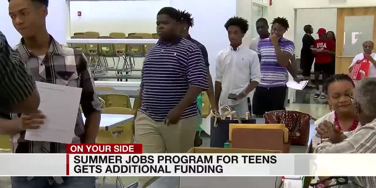 Summer jobs program for teens gets additional funding