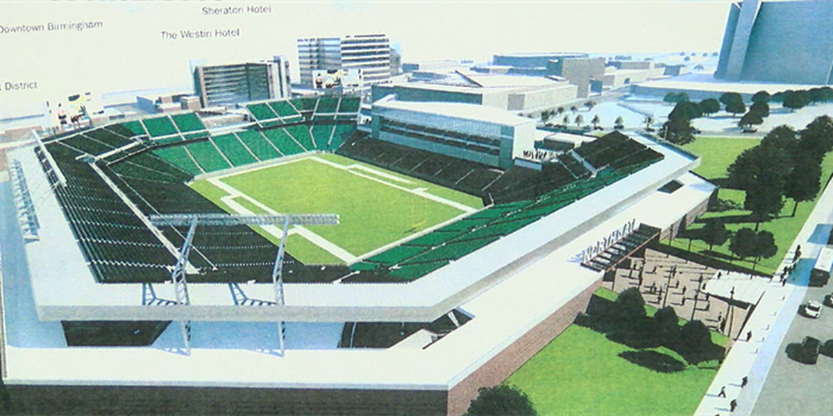 Birmingham mayor recommends city invest $90 million over 30 years on new stadium