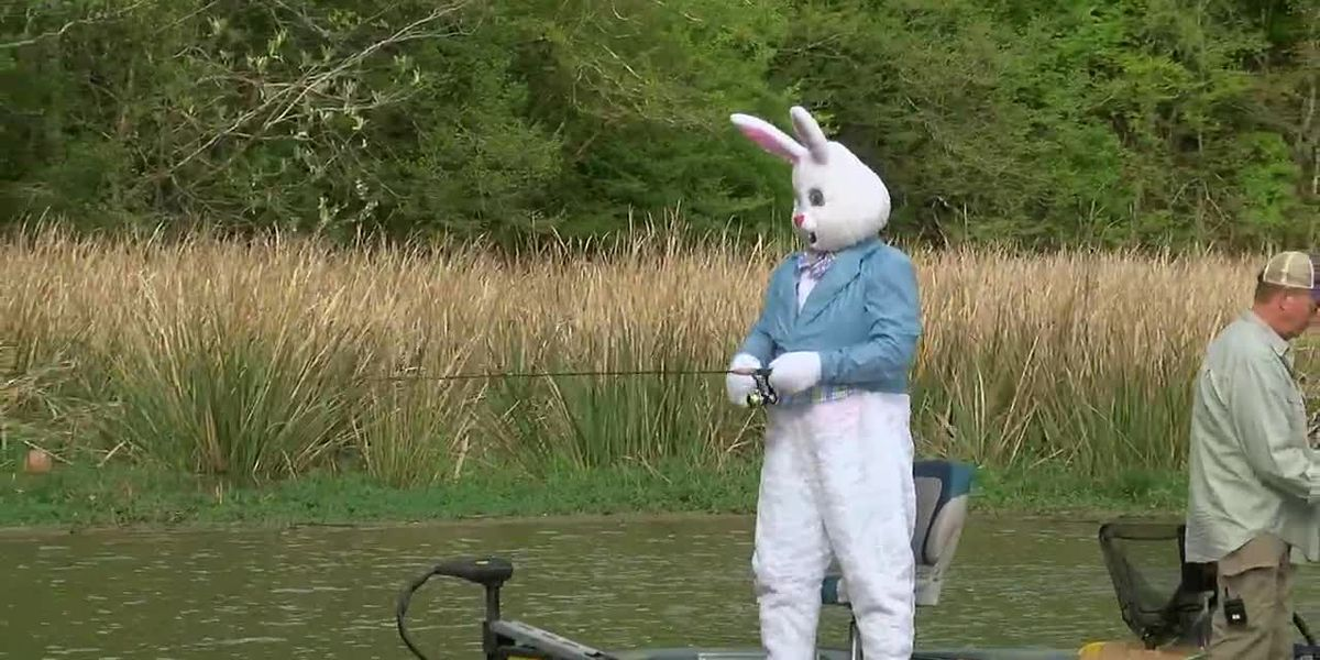Absolutely Alabama: Easter Bunny Fishing