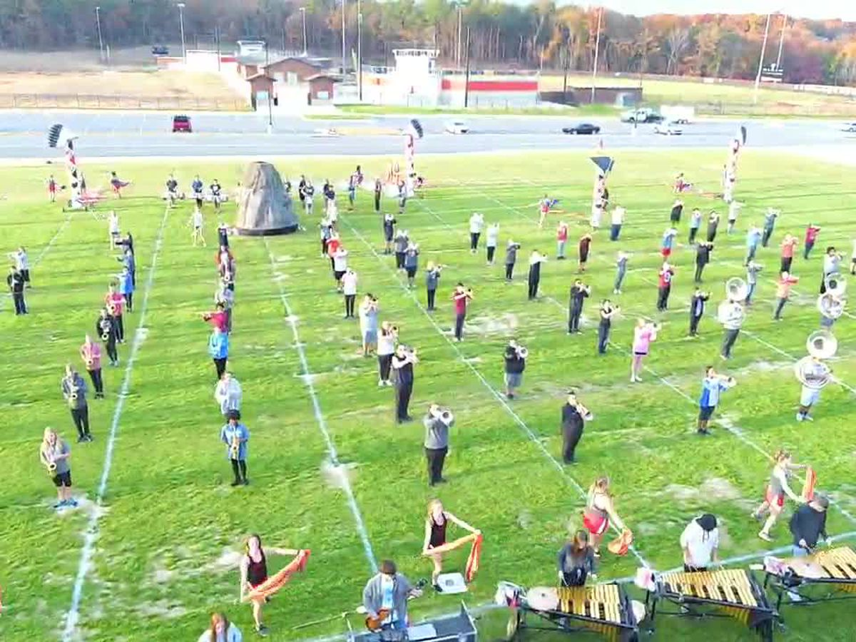 Thompson HS band is all about the Warrior love