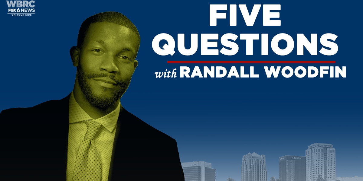 5 questions with Randall Woodfin