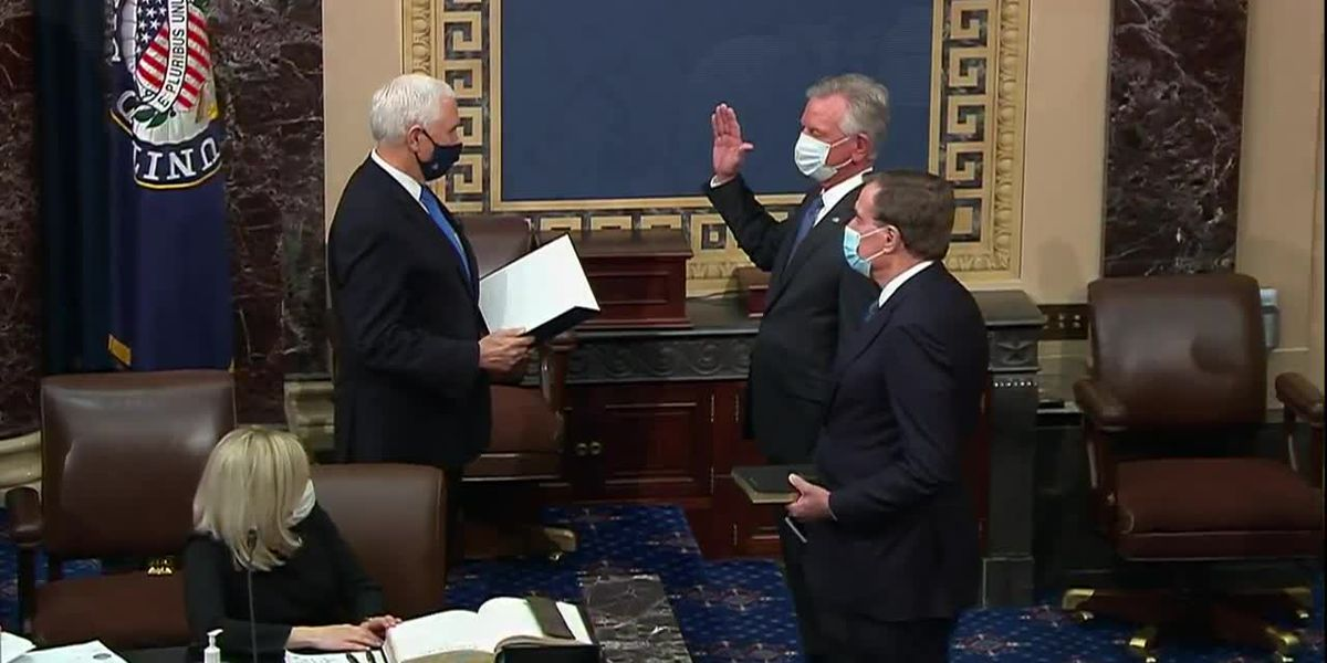 Tommy Tuberville sworn in to U.S. Senate
