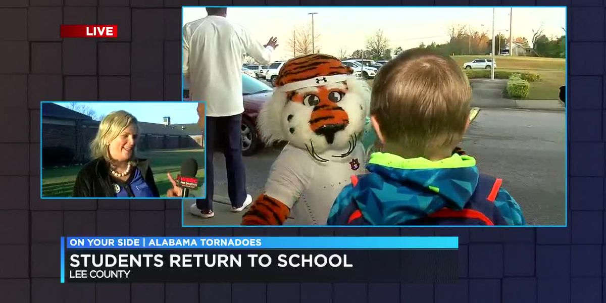 Lee Co. students return to school after tornadoes