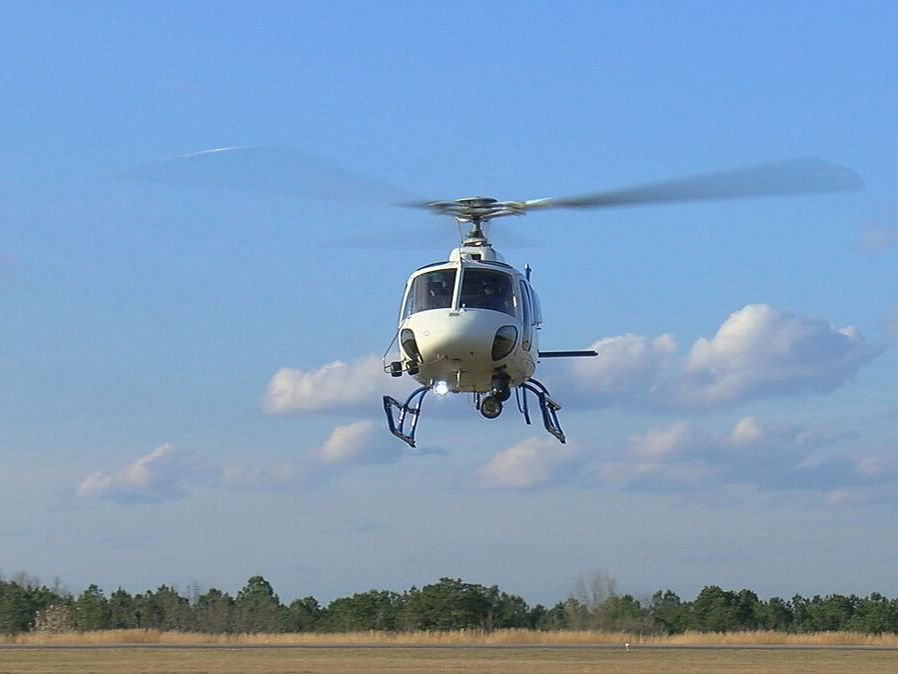 WBRC gets firsthand look at new camera technology helping Metro Area Crime Center helicopter
