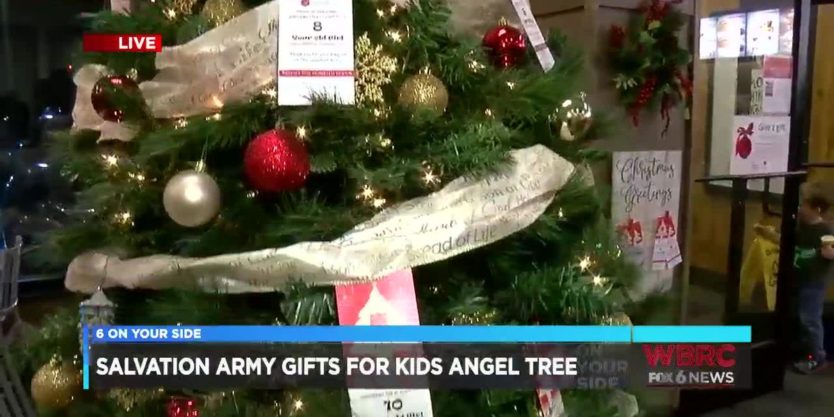 Salvation Army Gifts for Kids Angel Tree