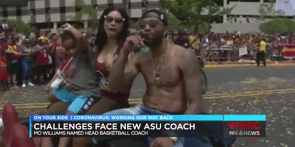 Mo Williams talks about becoming Alabama State basketball coach