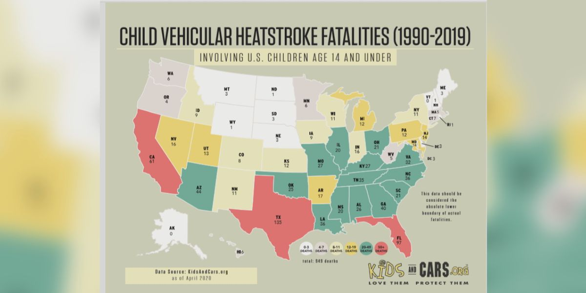 KidsAndCars.org says new technology can help prevent hot car deaths