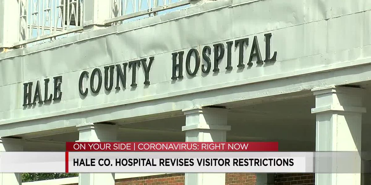 Hale County Hospital loosens visitation restrictions after COVID19 cases drop