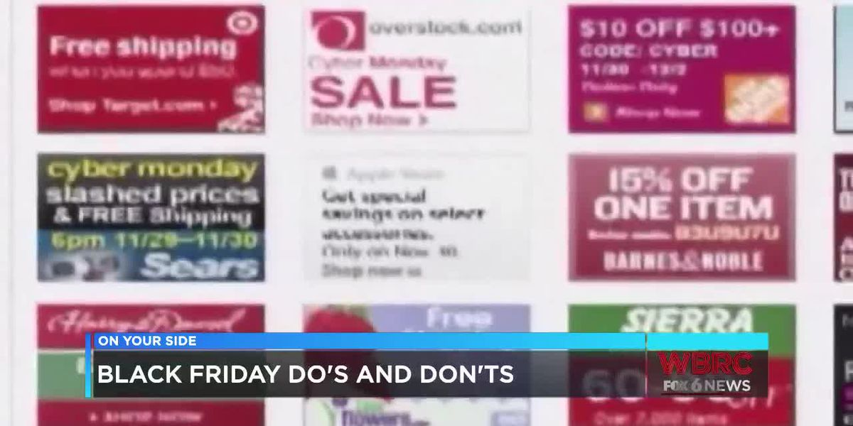 Black Friday do's and don'ts