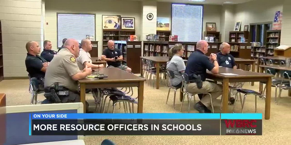 More resource officers in schools
