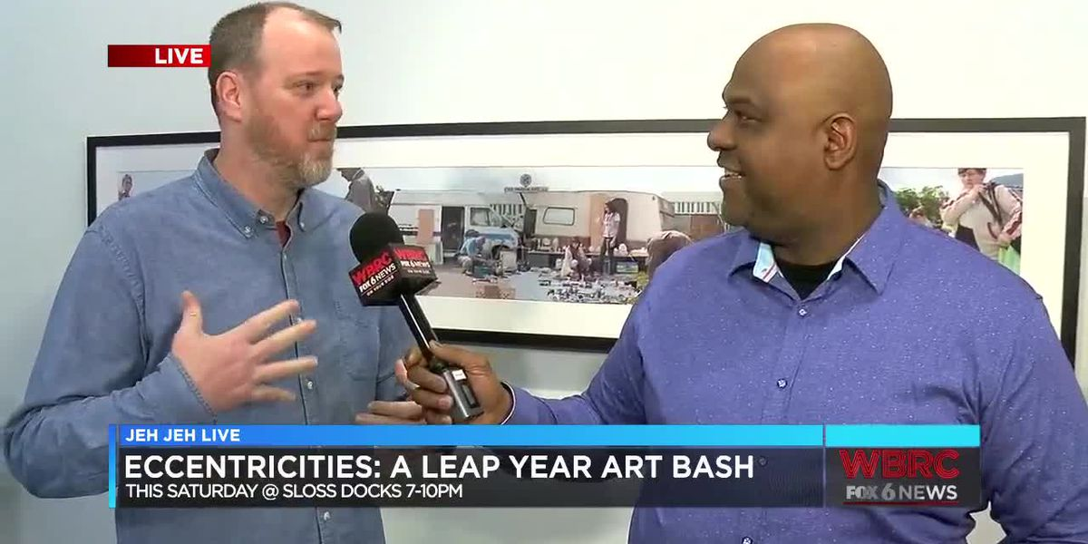 Jeh Jeh Live: Eccentricities: A Leap Year Art Bash
