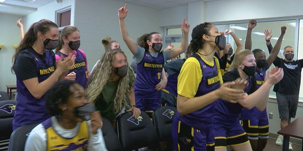 History made! Montevallo Falcons make DII NCAA women's tournament