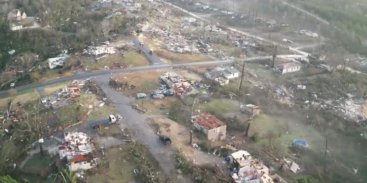 Samaritan's Purse helping tornado survivors in Fultondale, Center Point
