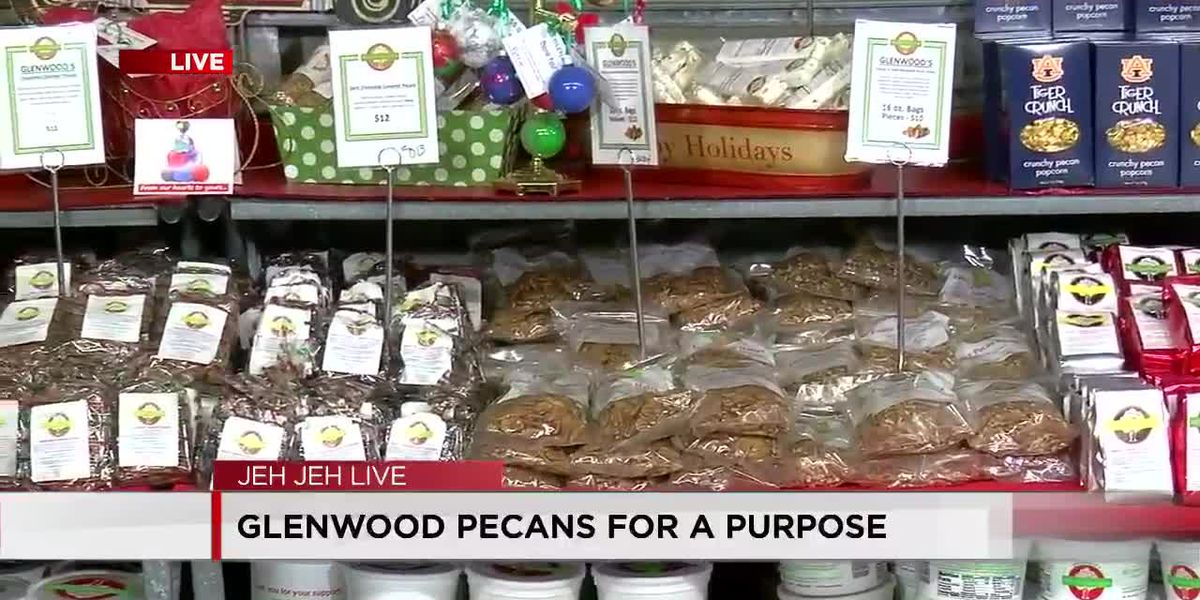 Glenwood Pecans for a purpose