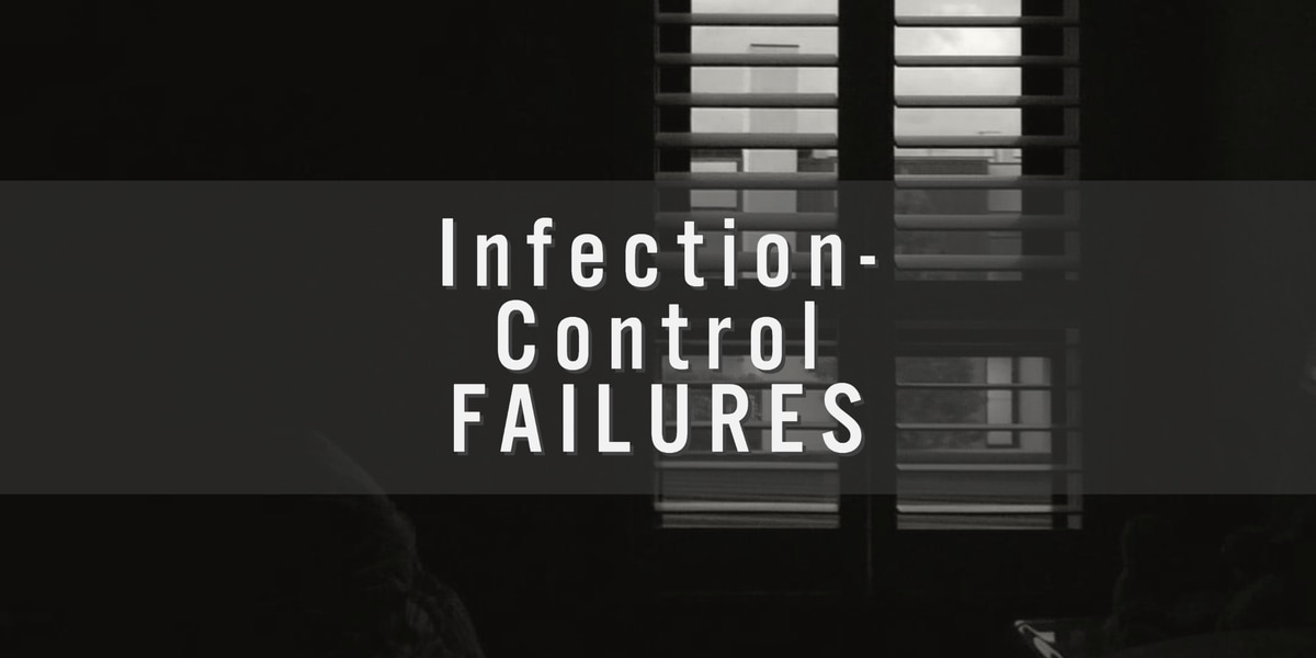 Some nursing homes now battling COVID-19 previously cited for infection-control failures