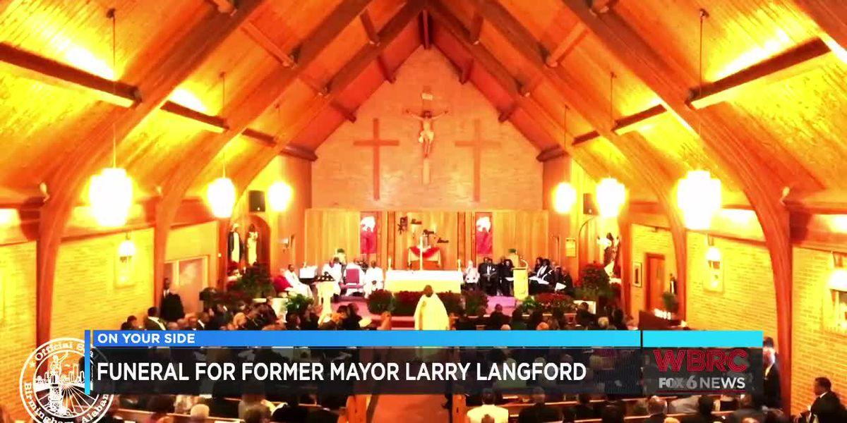 Former Birmingham Mayor Larry Langford laid to rest Monday