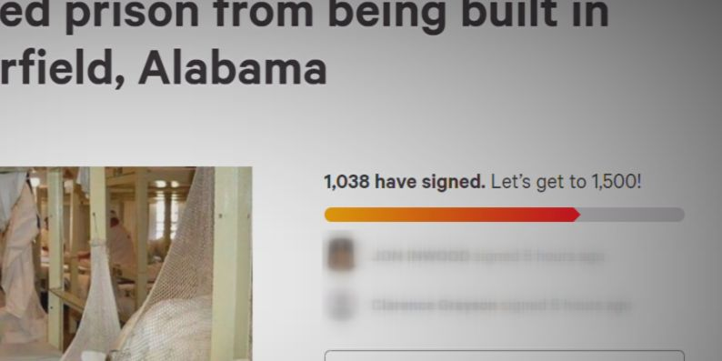 Bibb Co. woman starts petition to block new prison, why prison in Brent can't be renovated