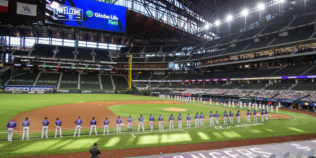 MLB's Rangers in line to be first team back to full capacity