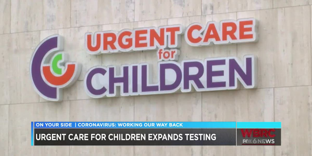 Urgent Care for Children will now test adults for COVID-19