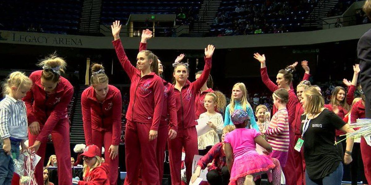 Alabama edges Auburn in 3rd Annual Elevate the Stage gymnastics meet