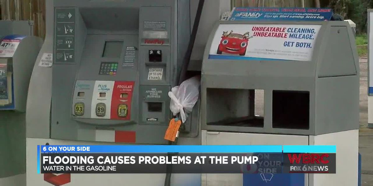 Water in gasoline at a Birmingham gas station causes problems for drivers