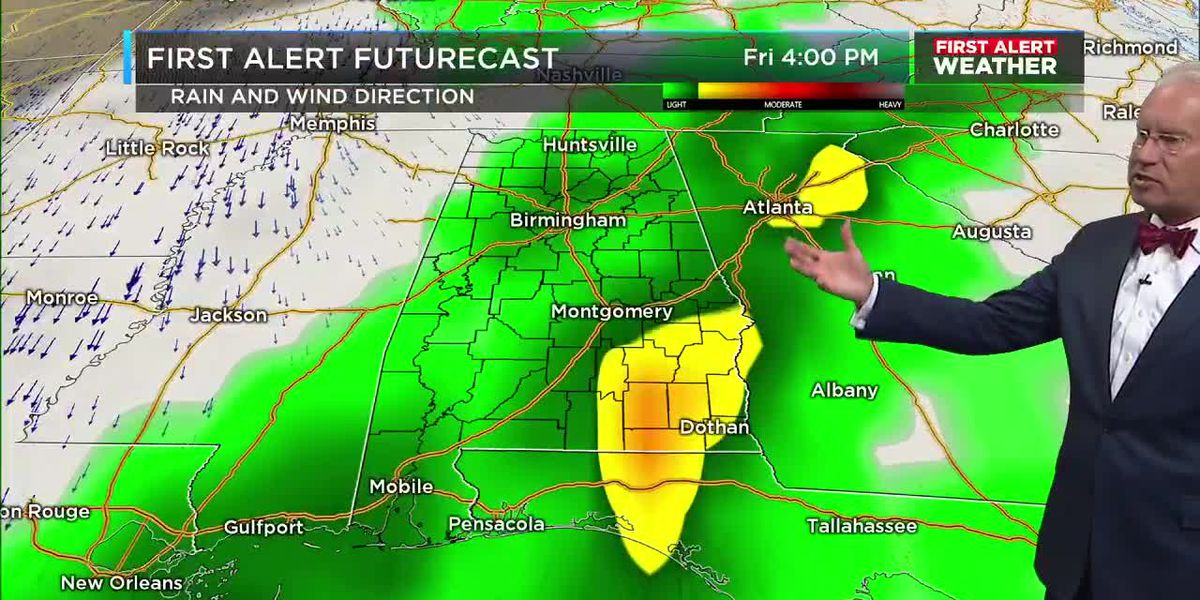 First Alert Weather 4am update 10-22-19