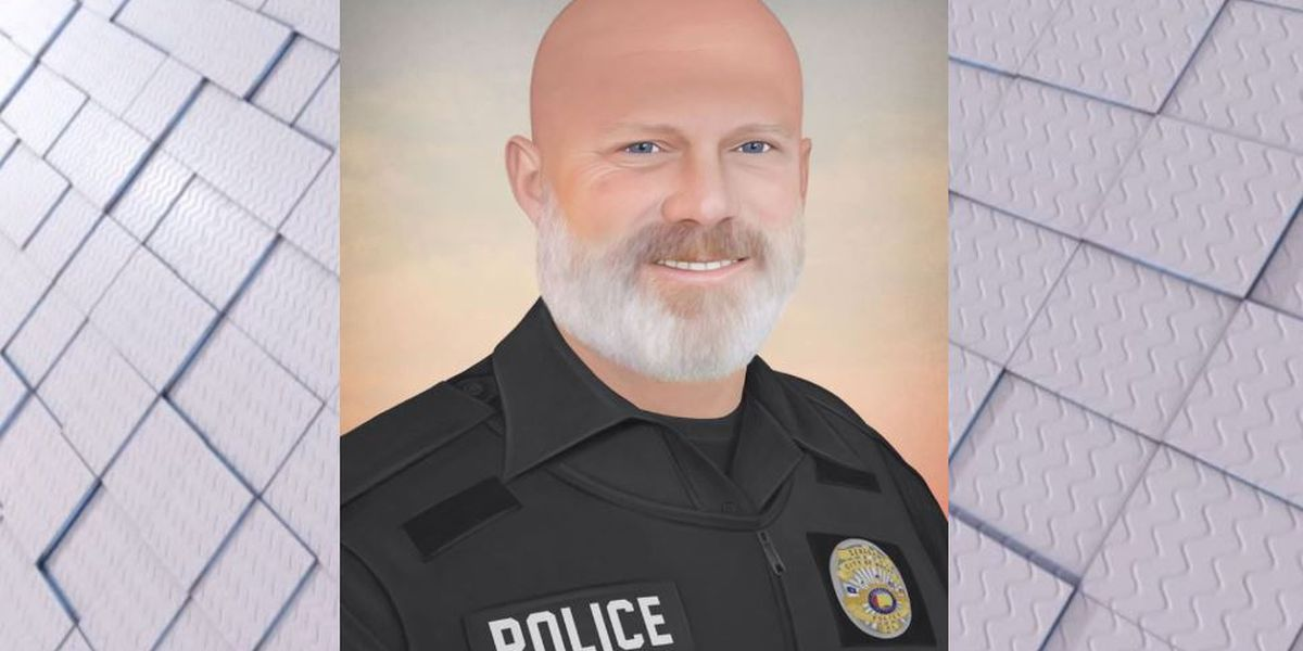 Police officer paints portrait of fallen Moody Sgt. Stephen Williams