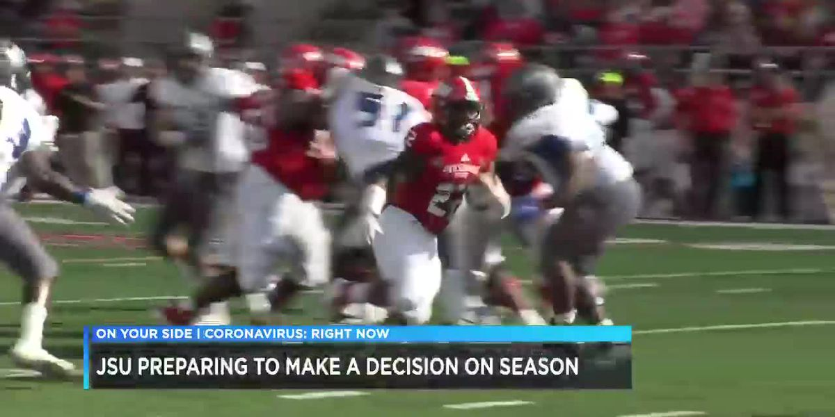 Jacksonville State waiting on decision for fall football