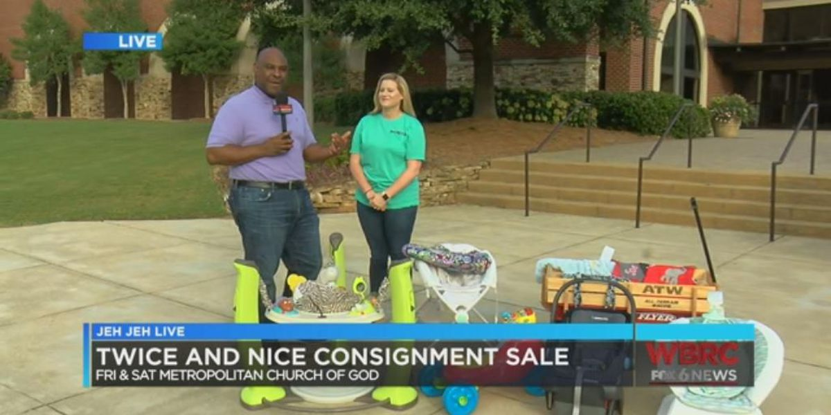 Twice as nice consignment sale