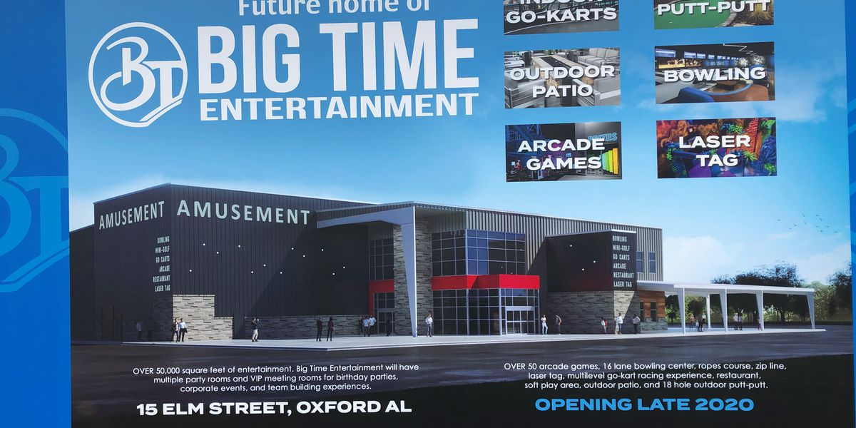 Large entertainment center coming to Oxford