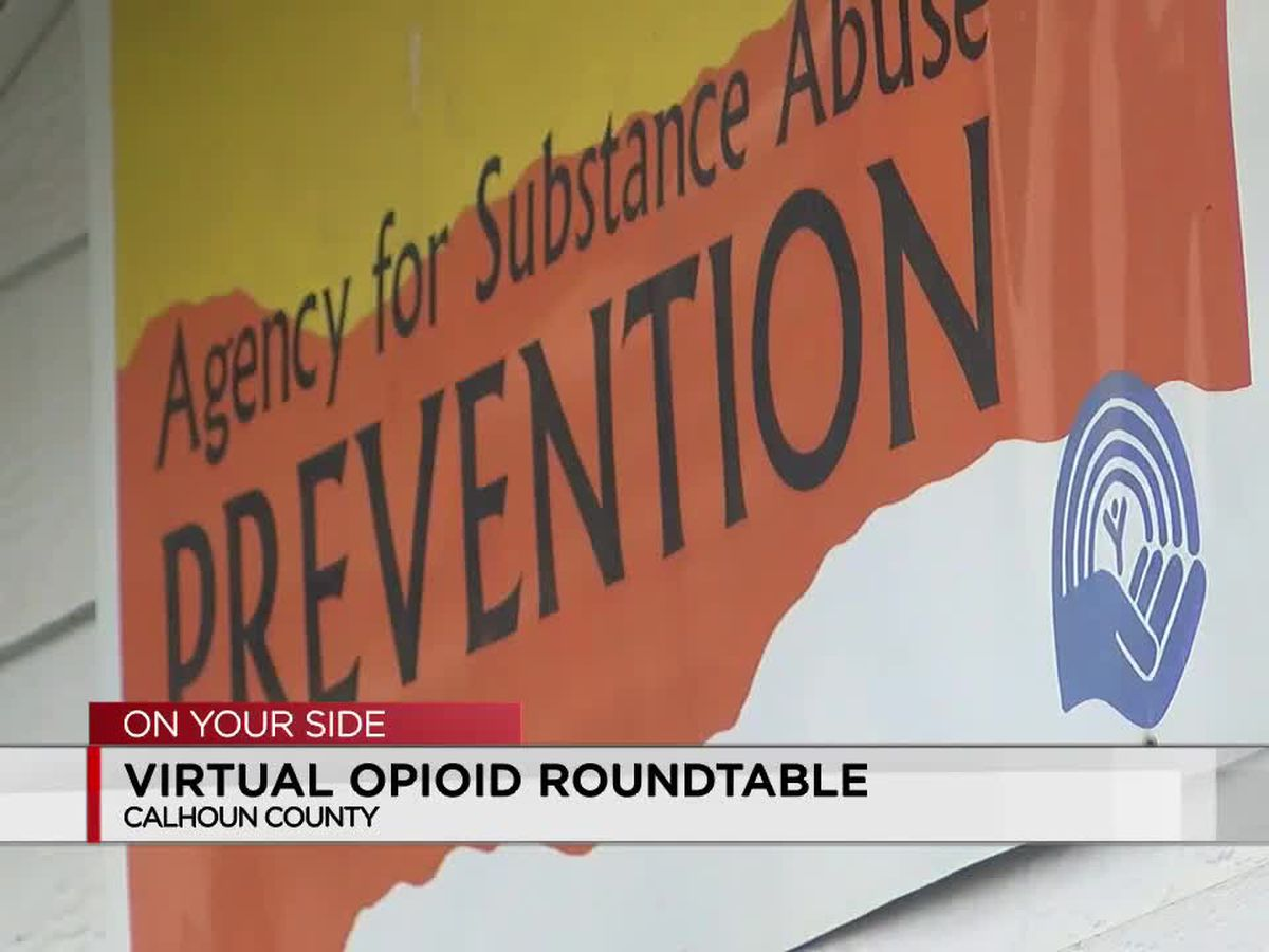 Opioid forum to be held online in Calhoun County