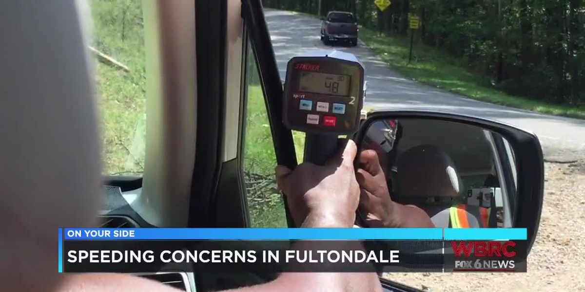 Speeding concerns in Fultondale