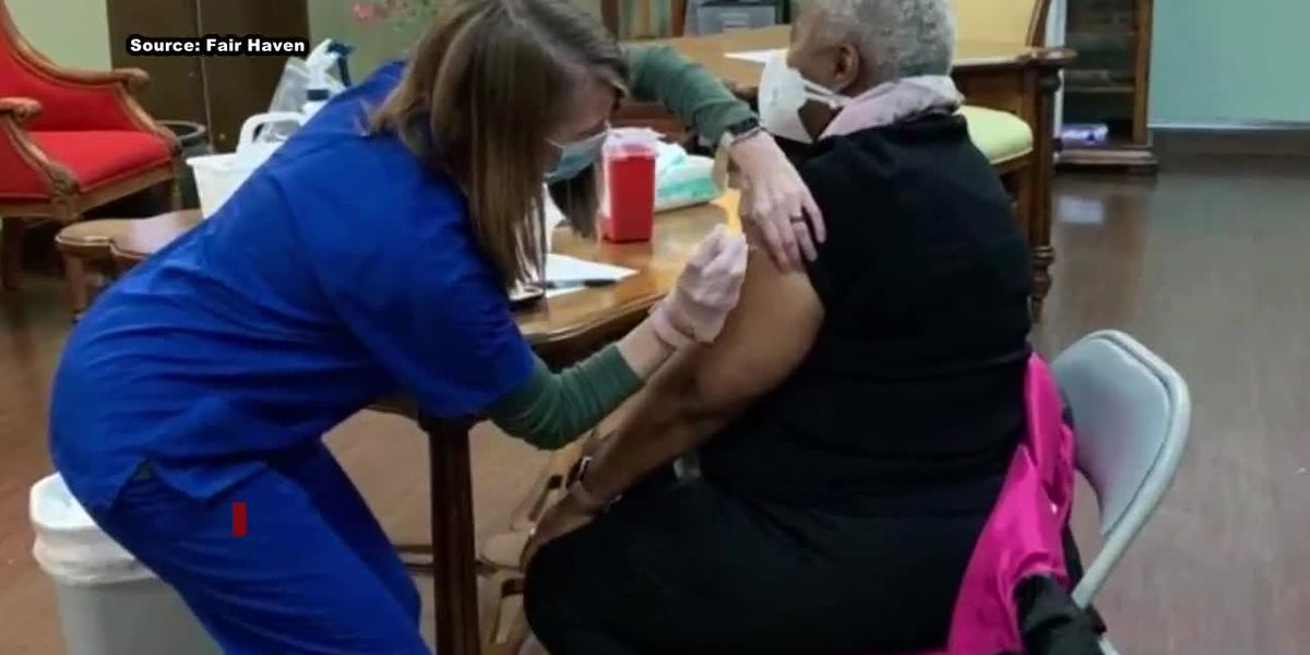 Fair Haven Nursing Home vaccinates more than 300 employees and residents
