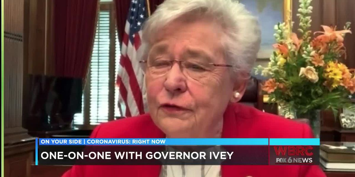 One-on-one with Governor Kay Ivey