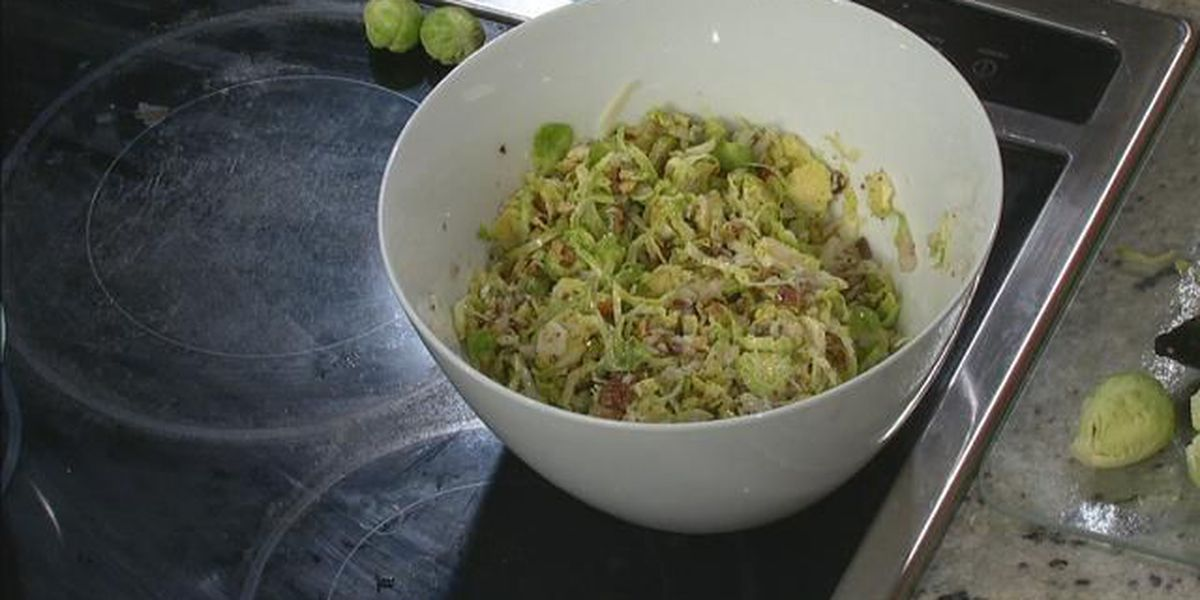 DAK's Bacon Brussels Sprout Salad
