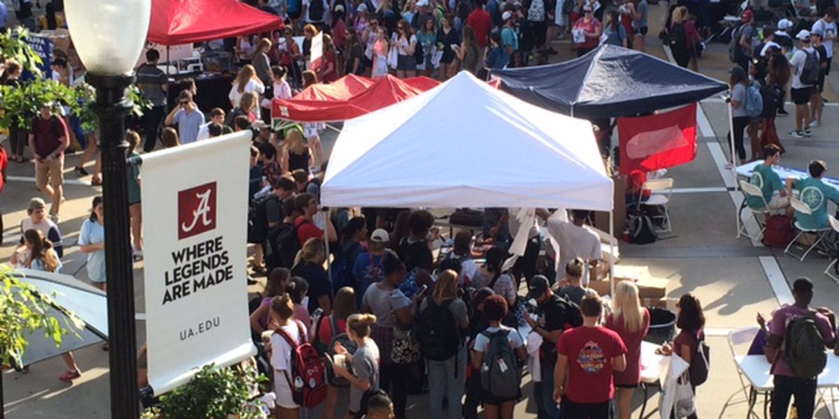 University of Alabama hosts Get on Board Day
