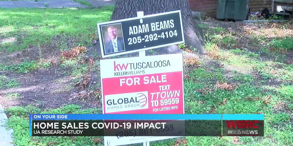 UA research study about COVID-19's impact on home sales