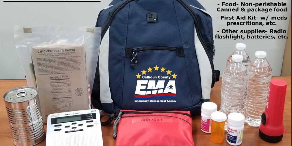 Calhoun County EMA urges residents to prep for severe weather emergencies