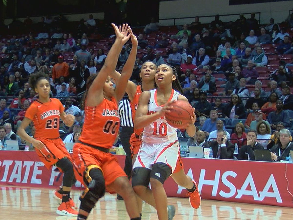 Hoover beats McGill-Toolen 57-49 to advance to 7A State Championship game