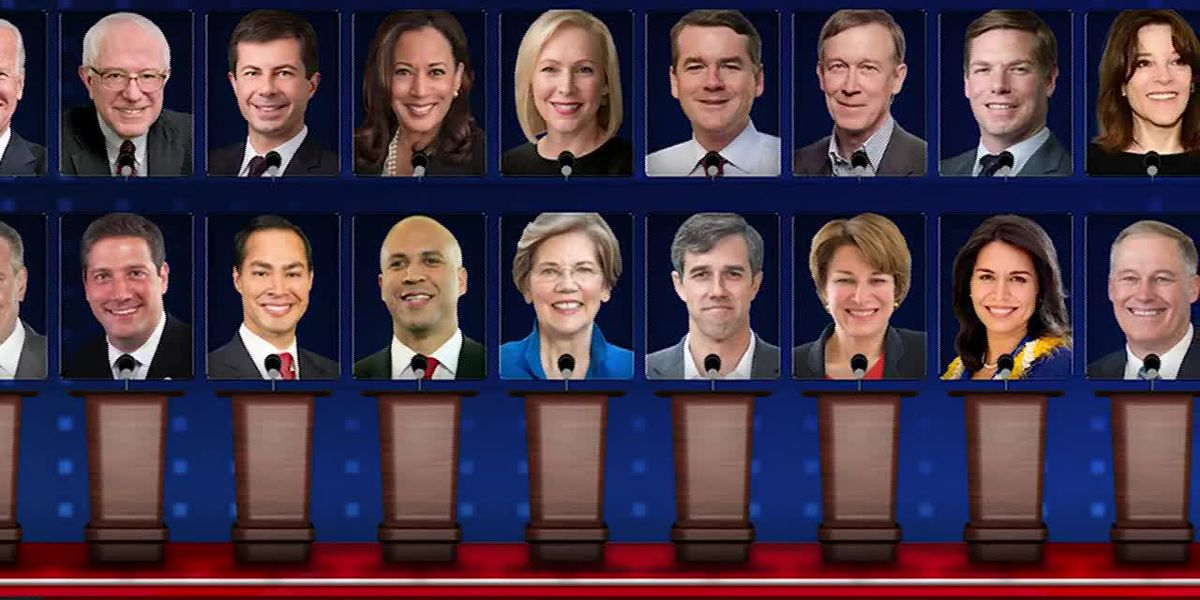2020 Democrats converge in Miami for 1st night of debates